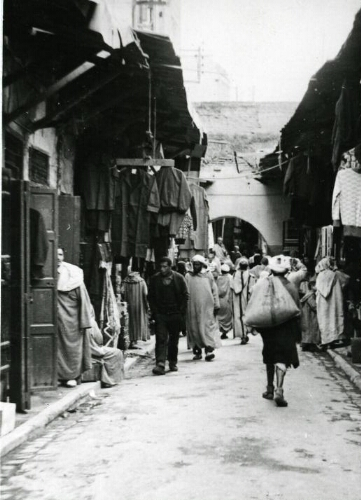Marrakech, rue du Commerce