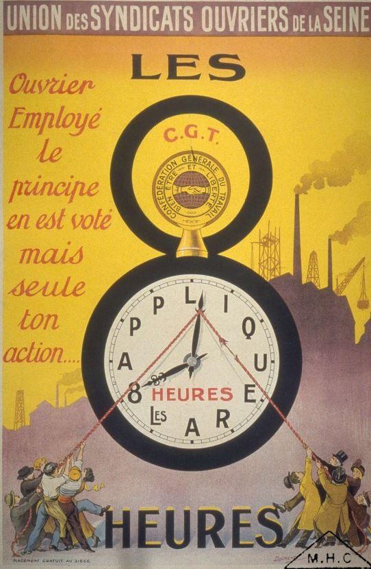 Affiche du premier mai 1919